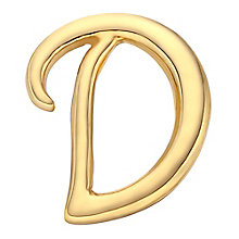 Your Story 9ct Gold 'D' Charm - Product number 3734374