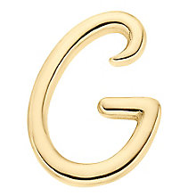 Your Story 9ct Gold 'G' Charm - Product number 3734412