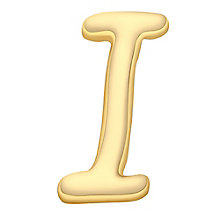 Your Story 9ct Gold 'I' Charm - Product number 3734447