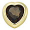 Your Story 9ct Gold June Smokey Quartz Heart Charm - Product number 3734471