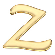 Your Story 9ct Gold 'Z' Charm - Product number 3734595