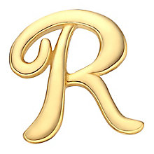 Your Story 9ct Gold 'R' Charm - Product number 3734714