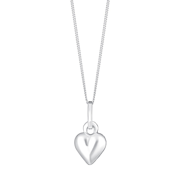 Sterling Silver Heart Pendant - Product number 3735427