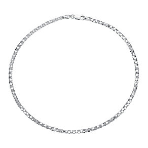 Sterling Silver Mirrored Chain Necklace - Product number 3738000