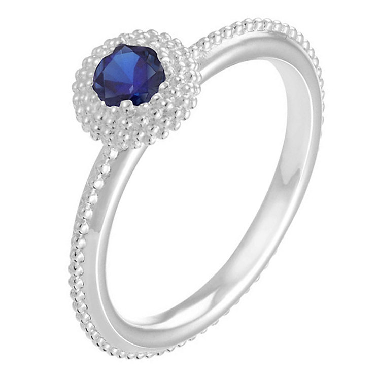 Chamilia Soiree sterling silver September birthstone ring L - Product number 3742636