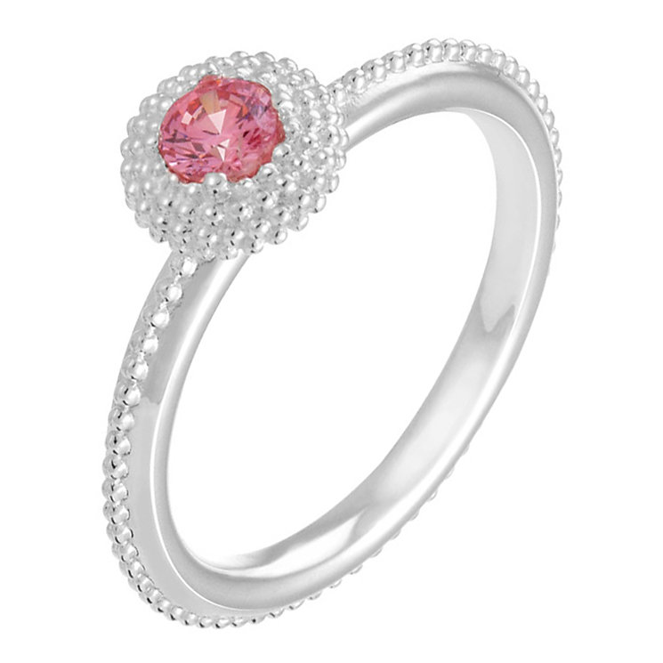 Chamilia Soiree sterling silver October birthstone ring M - Product number 3742946