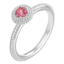 Chamilia Soiree sterling silver October birthstone ring XL - Product number 3742962