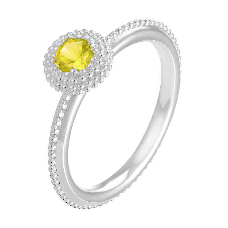 Chamilia Soiree sterling silver November birthstone ring S - Product number 3742989