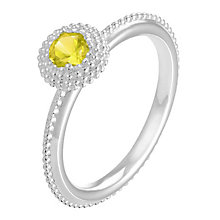 Chamilia Soiree sterling silver November birthstone ring L - Product number 3743004