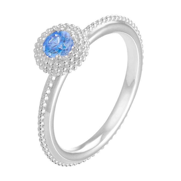 Chamilia Soiree sterling silver December birthstone ring S - Product number 3743039