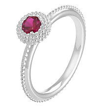 Chamilia Soiree sterling silver January birthstone ring XS - Product number 3743284