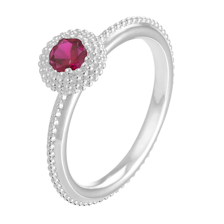 Chamilia Soiree sterling silver January birthstone ring XL - Product number 3743527
