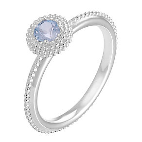 Chamilia Soiree sterling silver March birthstone ring XL - Product number 3743829