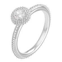 Chamilia Soiree sterling silver April birthstone ring L - Product number 3744469