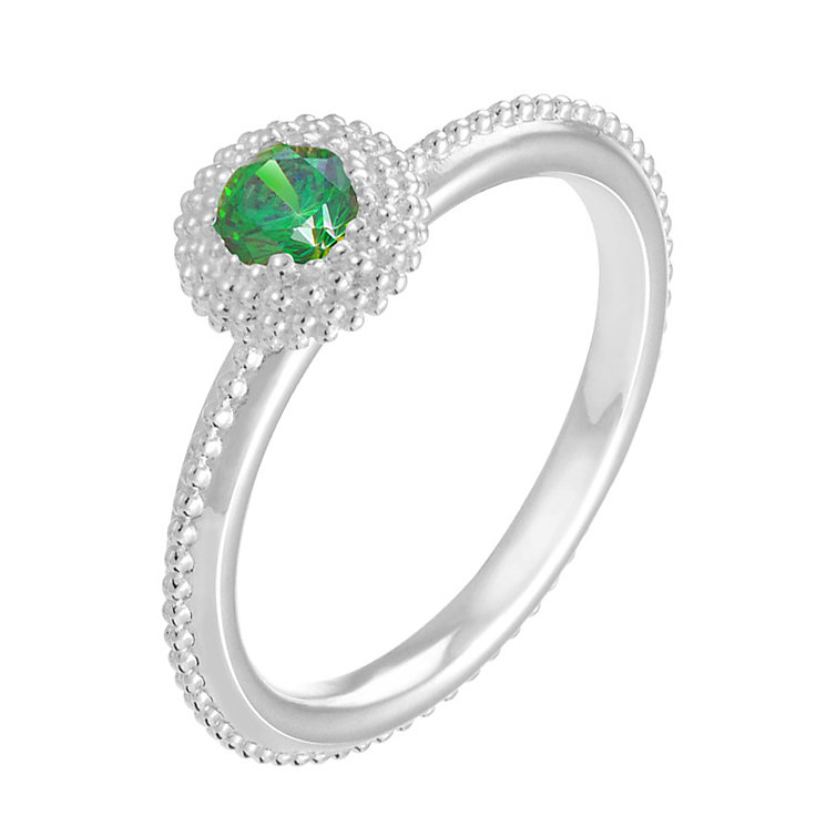 Chamilia Soiree sterling silver May birthstone ring M - Product number 3744507