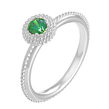Chamilia Soiree sterling silver May birthstone ring L - Product number 3744515