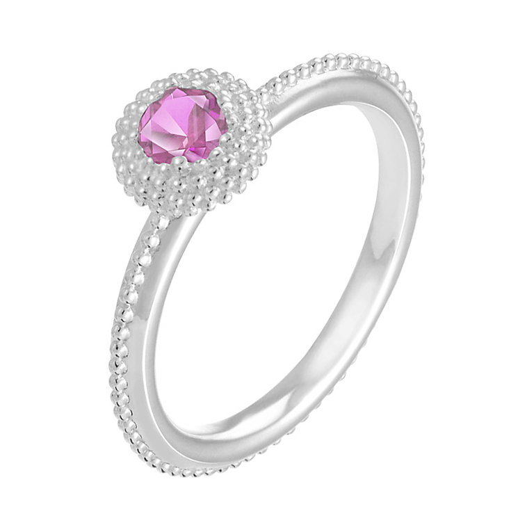 Chamilia Soiree sterling silver June birthstone ring L - Product number 3744620