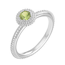 Chamilia Soiree sterling silver August birthstone ring L - Product number 3745600
