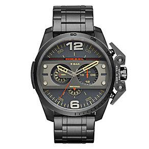 Diesel Ironside Men's Black Ion-Plated Bracelet Watch - Product number 3745694