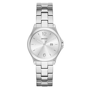 DKNY Ladies' Silver Dial Stainless Steel Bracelet Watch - Product number 3749614