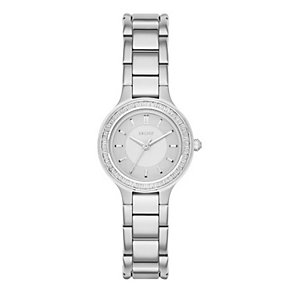 DKNY Ladies' Mother Of Pearl Stainless Steel Bracelet Watch - Product number 3749916