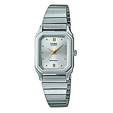 Casio Ladies' Square Dial Stainless Steel Bracelet Watch - Product number 3750868