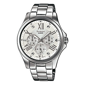 Casio Sheen Ladies' Stainless Steel Bracelet Watch - Product number 3751147