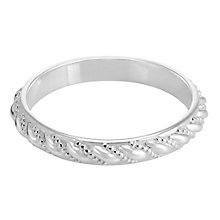 Chamilia Sterling Silver Timeless Stacking Ring Large - Product number 3755150
