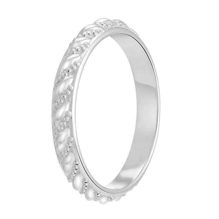 Chamilia Sterling Silver Starry Eyed Stacking Ring XS - Product number 3755193