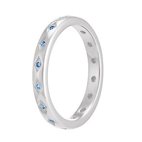 Chamilia Artic Blue Starry Eyed Stacking Ring Large - Product number 3755282