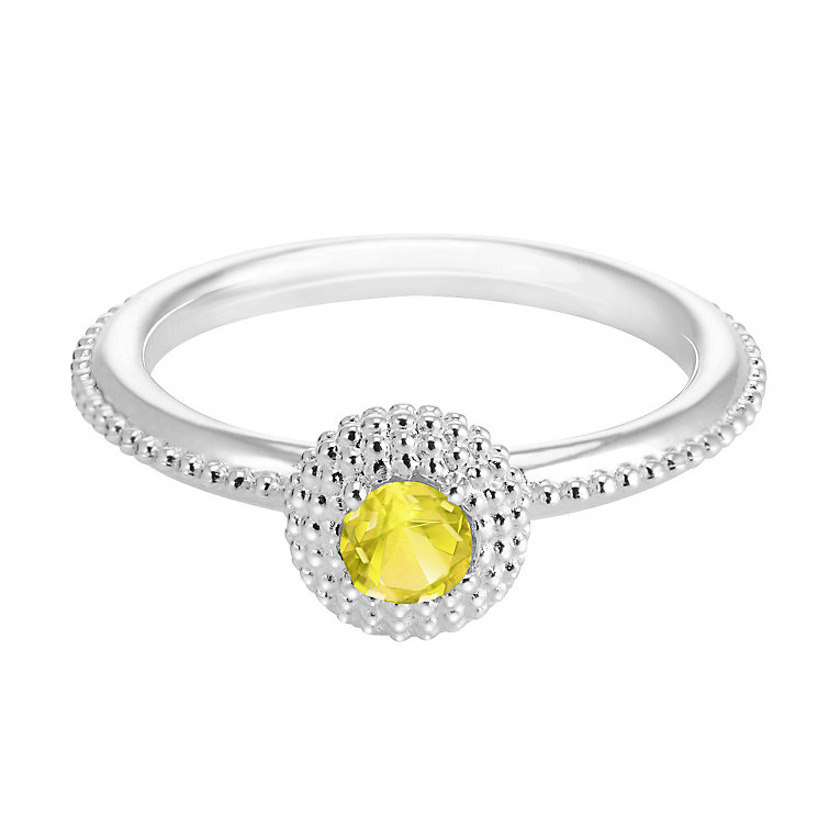 Chamilia Soiree Silver November Birthstone Ring XS - Product number 3755339
