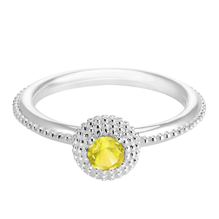 Chamilia Soiree Silver November Birthstone Ring Large - Product number 3755363