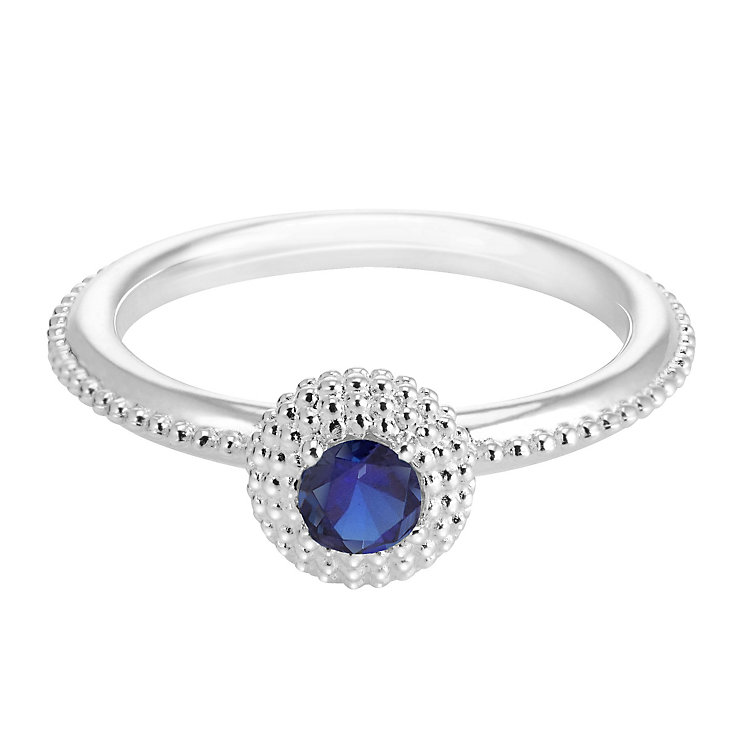Chamilia Soiree Silver September Birthstone Ring Small - Product number 3755428