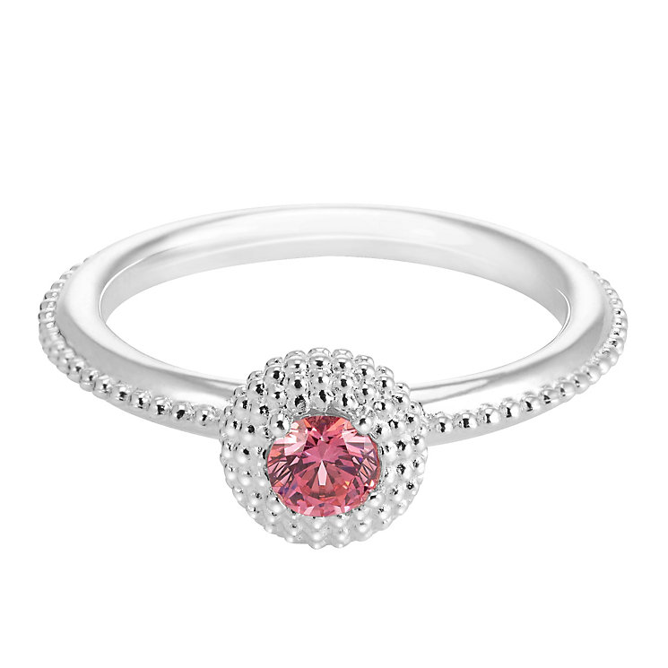 Chamilia Soiree Silver October Birthstone Ring Large - Product number 3755479