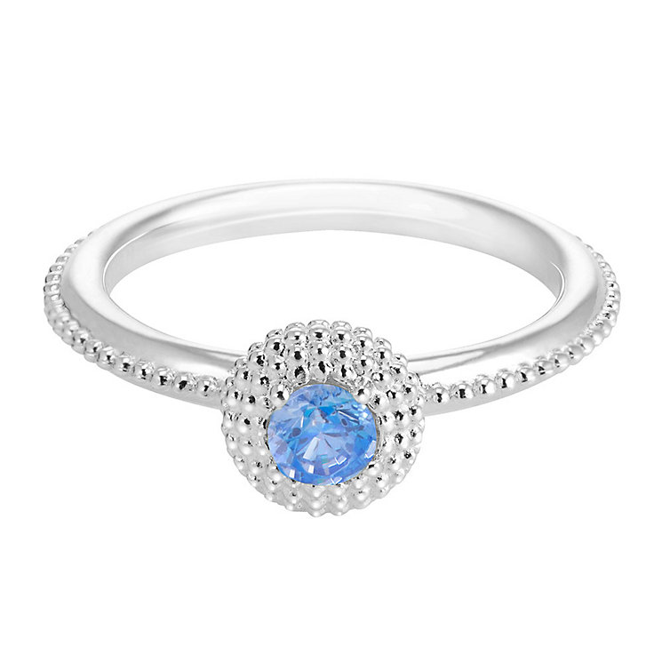 Chamilia Soiree Silver December Birthstone Ring XS - Product number 3755517