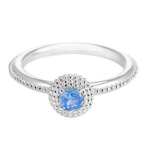 Chamilia Soiree Silver December Birthstone Ring Meduim - Product number 3755533