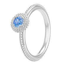 Chamilia Soiree Silver December Birthstone Ring Large - Product number 3755541