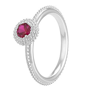 Chamilia Soiree Silver January Birthstone Ring Small - Product number 3755584