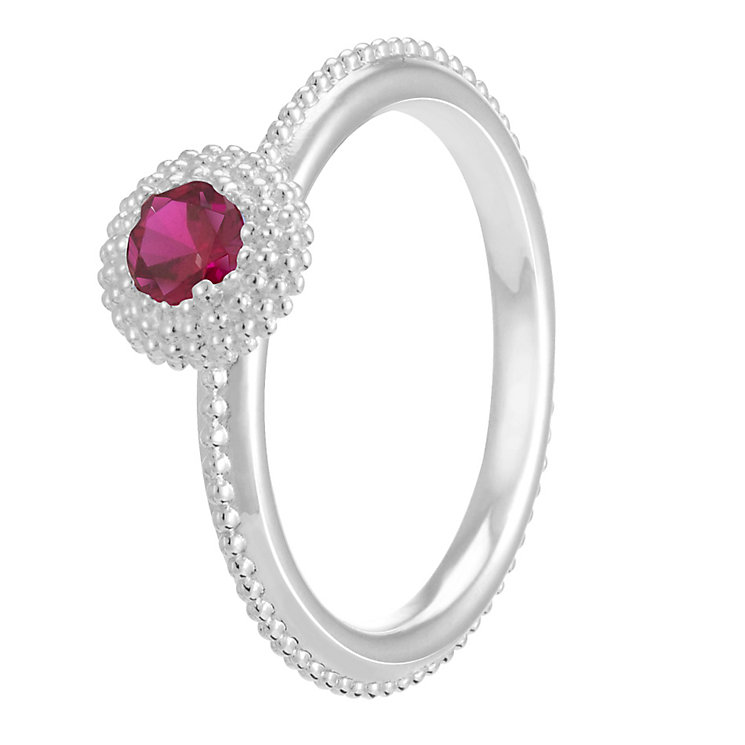 Chamilia Soiree Silver January Birthstone Ring Medium - Product number 3755592