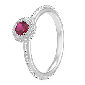 Chamilia Soiree Silver January Birthstone Ring Large - Product number 3755606