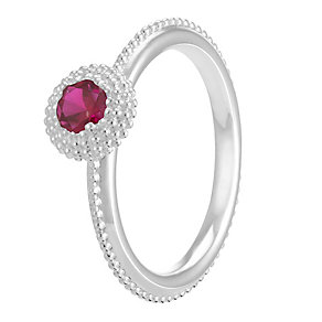 Chamilia Soiree Silver January Birthstone Ring Extra Large - Product number 3755614