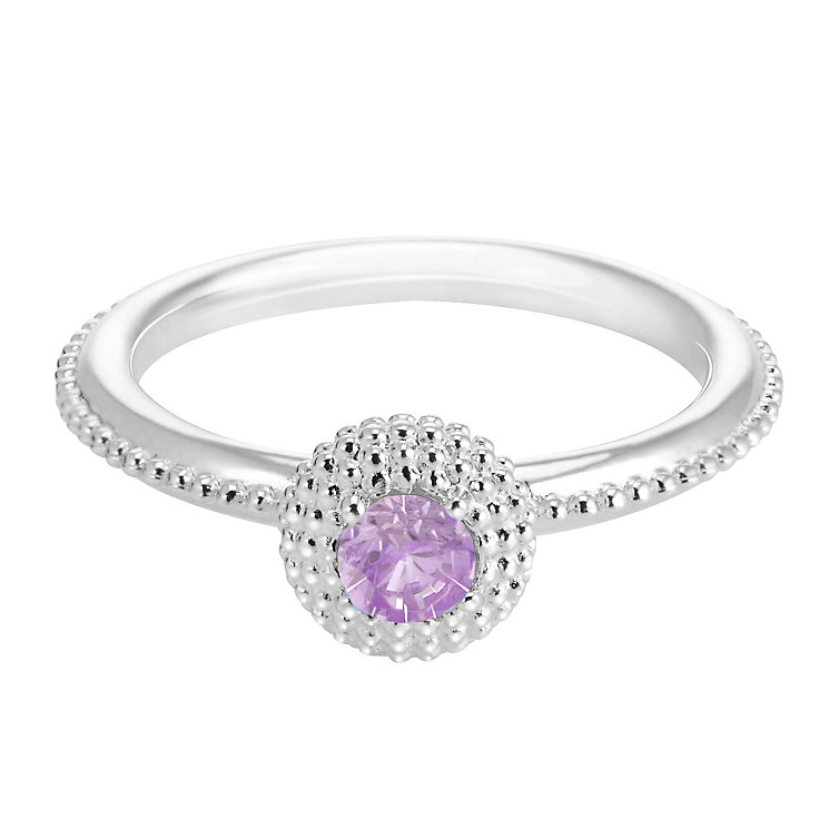 Chamilia Soiree Silver February Birthstone Ring Meduim - Product number 3755649