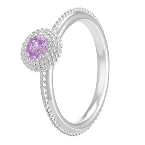 Chamilia Soiree Silver February Birthstone Ring Large - Product number 3755657