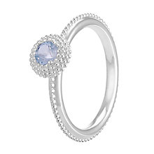 Chamilia Soiree Silver March Birthstone Ring Meduim - Product number 3755703