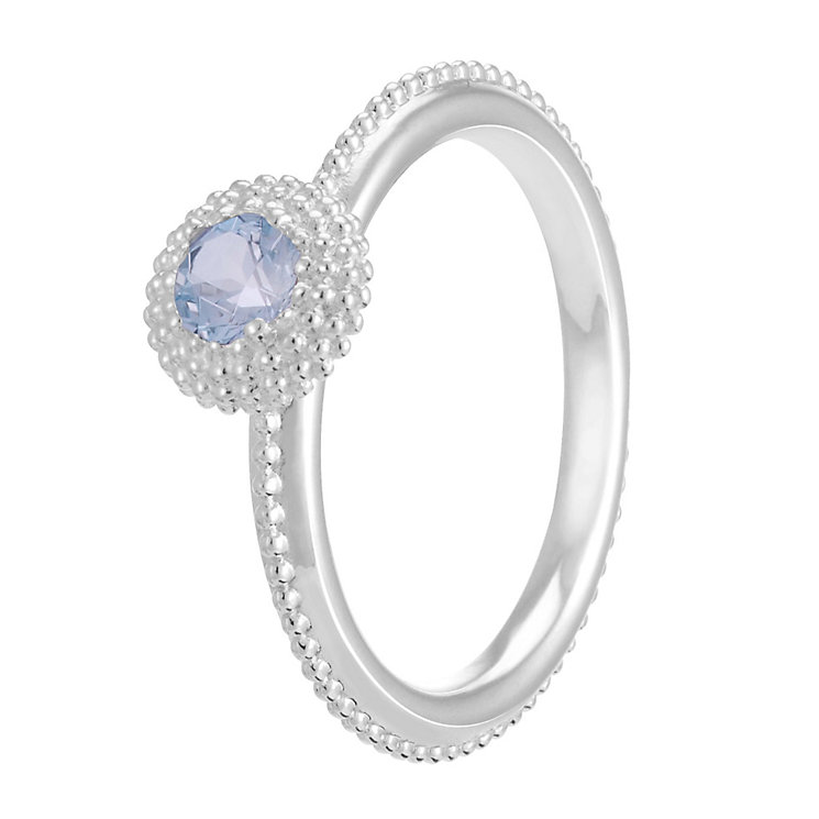 Chamilia Soiree Silver March Birthstone Ring XL - Product number 3755738