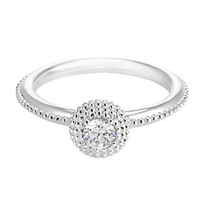 Chamilia Soiree Silver April Birthstone Ring Meduim - Product number 3755762