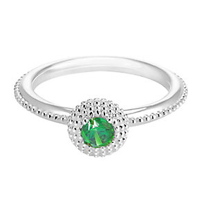 Chamilia Soiree Silver May Birthstone Ring XS - Product number 3755797