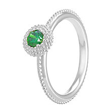 Chamilia Soiree Silver May Birthstone Ring Small - Product number 3755800