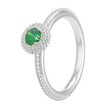 Chamilia Soiree Silver May Birthstone Ring Meduim - Product number 3755819