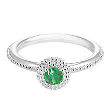 Chamilia Soiree Silver May Birthstone Ring Large - Product number 3755827